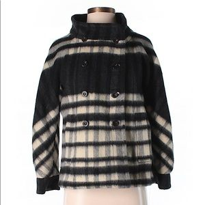 Marc by Marc Jacobs Wool Plaid Coat